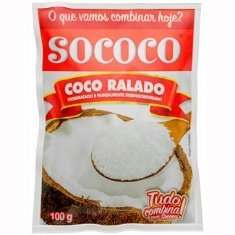 Coco Ralado Sococo Puro 100g
