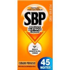 Inseticida SBP Líquido 45 Noites Refil 35ml
