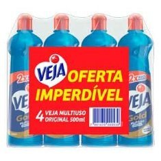 Kit de Limpeza Veja Original 4un 500ml