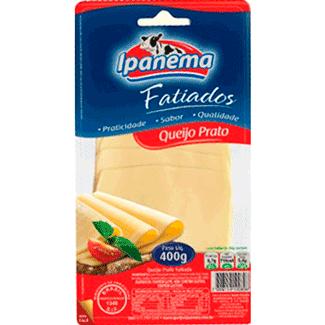 Queijo Prato Fatiado Ipanema 400g