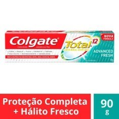 Creme Dental Total 12 Advanced Fresh Gel Colgate 90g