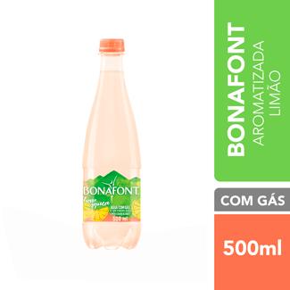 Água Mineral com Gás Lemon Squeeze Bonafont 500ml
