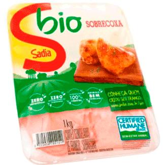 Sobrecoxa de Frango Congelada Bio Sadia 1kg