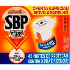 Inseticida SBP Líquido 45 Noites Grátis Aparelho