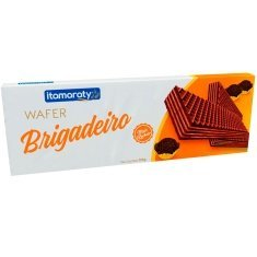 Biscoito Wafer Sabor Brigadeiro Itamaraty 110g