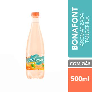 Água Mineral com Gás Tangerina Bonafont 500ml