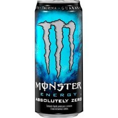 Energético Absolutely Zero Monster Energy 473ml Zero Açúcar