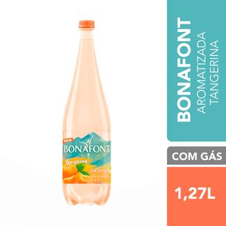 Água Mineral com Gás Sabor Tangerina Bonafont 1,270ml