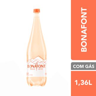 Água Mineral com Gás Bonafont 1,360ml