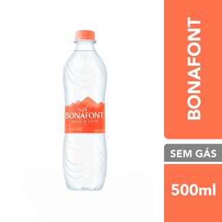 Água Mineral sem Gás Bonafont 500ml