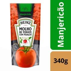 Molho de Tomate com Manjericão Heinz Sachê 340g