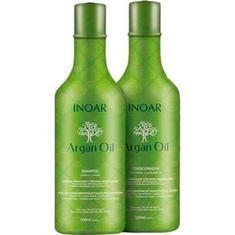 Kit Shampoo + Condicionador Argan Oil Inoar 500ml