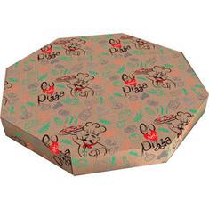 Caixa de Pizza 35cm c/ 25 unidades Econômica Sj