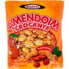 Bala de Amendoim Crocante Santa Fé 500g