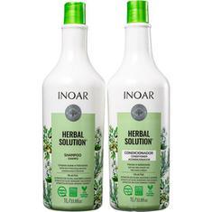 Kit Shampoo + Condicionador Herbal Solution Inoar 1L