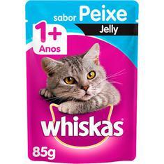 Alimento Para Gatos Castrados Sabor Peixe Whiskas 85g