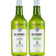 Shampoo + Condicionador Résistance Bambu Inoar 1l
