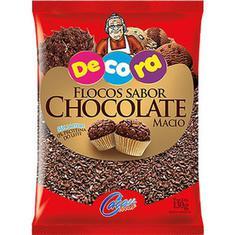 Flocos Macios sabor Chocolate Cacau Foods 130g