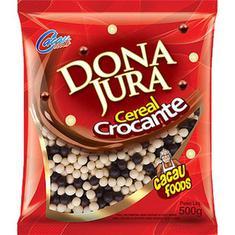 Cereal Crocante Mini Branco e Preto Dona Jura 500g