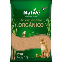 Açúcar Orgânico Demerara Native 5kg
