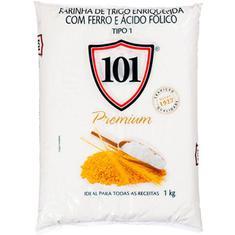 Farinha de Trigo Tradicional Premium 101 1kg
