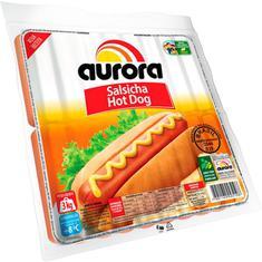 Salsicha Hot Dog Aurora kg Pct. c/ 3 kg