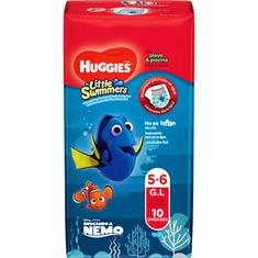 Fraldas Praia & Piscina Little Swimmers G Huggies 10un.