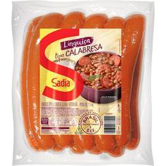 Linguiça Calabresa Sadia Kg Pct c/ 2,5 kg