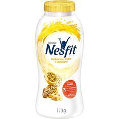 Iogurte Desnatado Maracujá Aveia e Gengibre Zero Lactose Nesfit Nestlé 170g