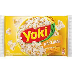 Milho de Pipoca Para Micro-Ondas Natural Yoki 100g