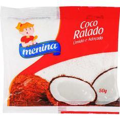 Coco Ralado Menina Extra Úmido 50g