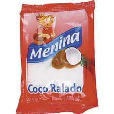 Coco Ralado Menina Extra Úmido 100g