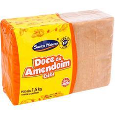 Doce de Amendoim Gibi Santa Helena 50un 30g