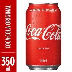 Refrigerante Coca-Cola 350ml