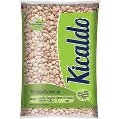 Feijão Carioca Tipo 1 Kicaldo 1kg