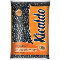 Feijão Preto Tipo 1 Kicaldo 1kg