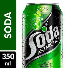 Refrigerante Sabor Limão Soda Antarctica 350ml