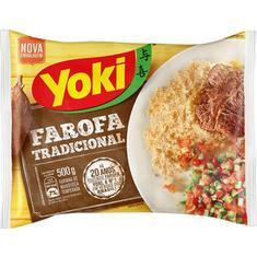 Farofa Pronta de Mandioca Yoki 500g