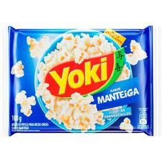 Milho de Pipoca Para Micro-Ondas sabor Manteiga Yoki 100g