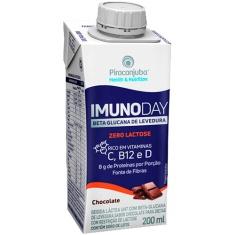 Bebida Láctea Sabor Chocolate Zero Lactose Imunoday 200ml