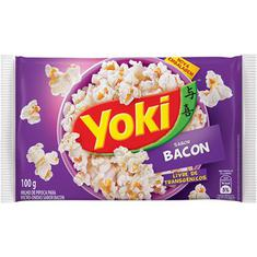 Milho de Pipoca Para Micro-Ondas sabor Bacon Yoki 100g