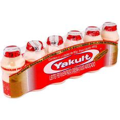 Leite Fermentado Yakult 6X80ml