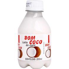 Leite de Coco Bom Coco 200ml