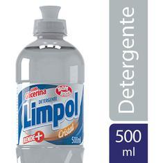 Detergente Líquido Limpol Cristal 500ml