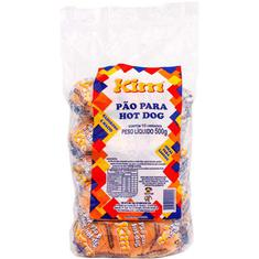 Pão de Hot Dog Kim 500g