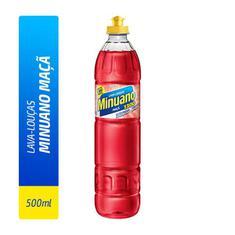 Detergente Líquido Minuano Maçã 500ml