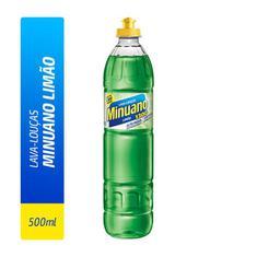 Detergente Líquido Minuano Limão 500ml