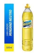 Detergente Líquido Minuano Neutro 500ml