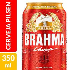 Cerveja Pilsen Brahma 350ml