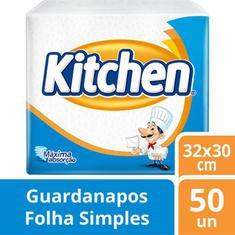 Guardanapo Kitchen 50 unidades  30X33cm